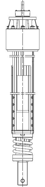 Келли-штанга сложенная